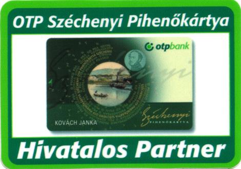 OTP Pihenő Kártya elfogadóhely
